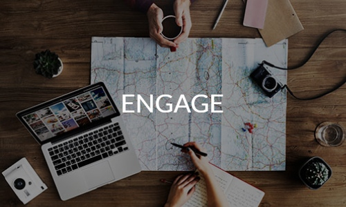 engage banner trip planning